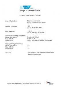 Certyfikat 3834-2 2005 Strona 2